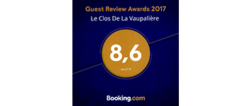 Awards 2017 Booking Clos de la Vaupaliere