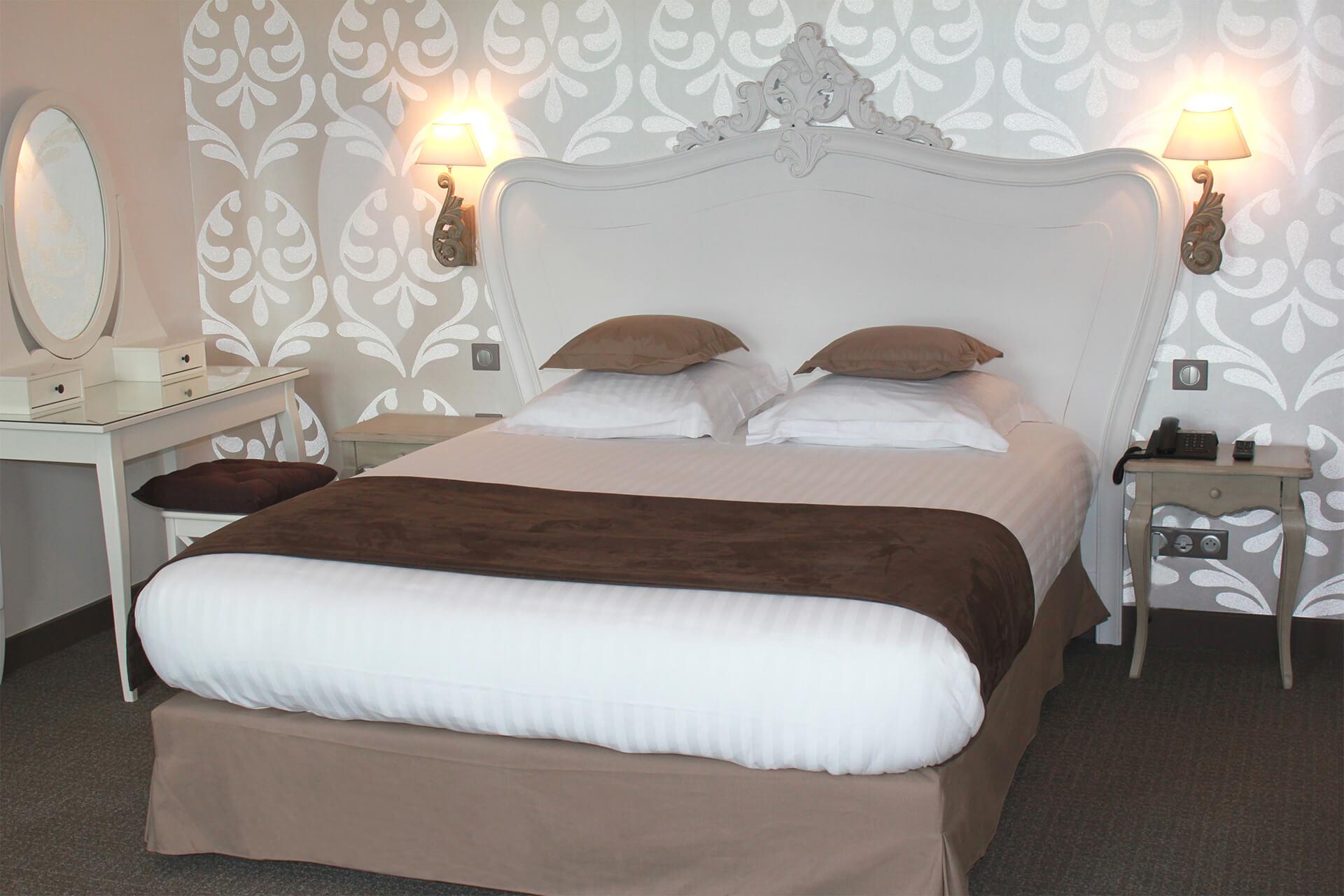 Chambre Adulte Campagne Chic hôtel de charme 3 étoiles avec 16 chambres près de rouen
